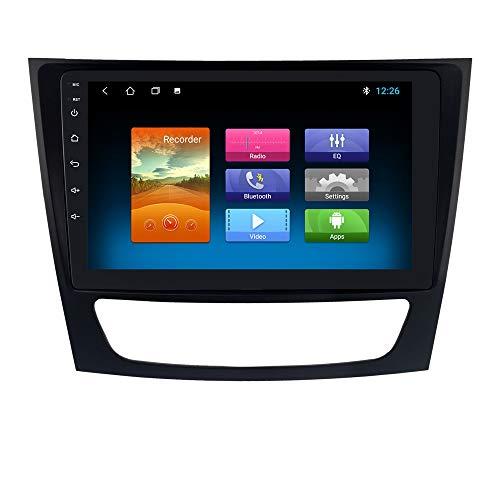 Android 10 OS Radio de Coche de 9 Pulgadas Navegador GPS para Mercedes Benz Clase E Clase G Clase CLK Clase CLS Compatible con Bluetooth 4.0 CANBUS SWC Radio WiFi 4G USB