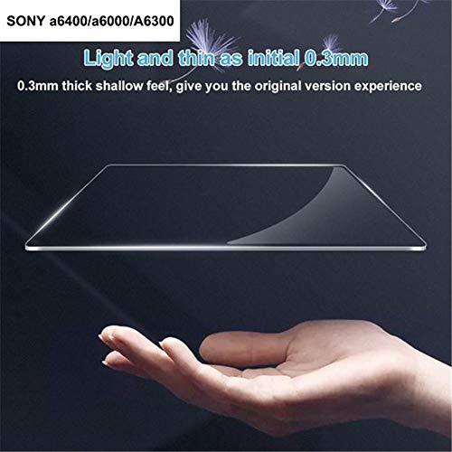 Colinsa Für Sony rx100 / a77 / a6000a / 6400 / rx100 / a7 / a6300 0,3mm optische 9h gehärtetes optisches Glas Displayschutzfolie Haut Film