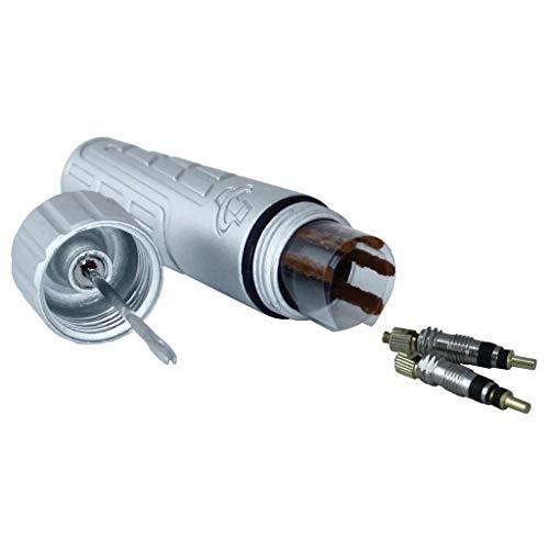Genuine Innovations Kit de reparación de neumáticos sin cámara G20439 con Tocino para reparación de neumáticos de Bicicleta