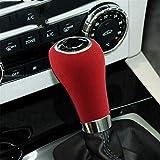 JJJJD Collars de Gamuza de Gamuza de Gamuza de Gamuza MANDAR MANDADA Collares ABS Pegatina Etiqueta engomada para Mercedes para W204 W212 W169 para W219 W463 para CLS C E A Clase G (Color : Red)