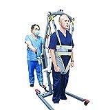 ZHYJJ Imbracature per Il Sollevamento del Paziente Cintura Altezza Regolata Dispositivo di Assistenza al Movimento Paranco Andatura Cinghie per La Deambulazione,ausili per La Deambulazione in Piedi