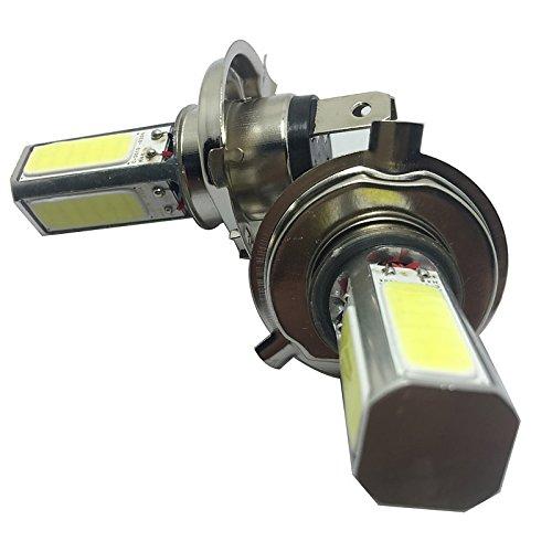 ZGMA 2pcs Automatique Ampoules électriques COB 2800lm Lampe Frontale/Feu Antibrouillard