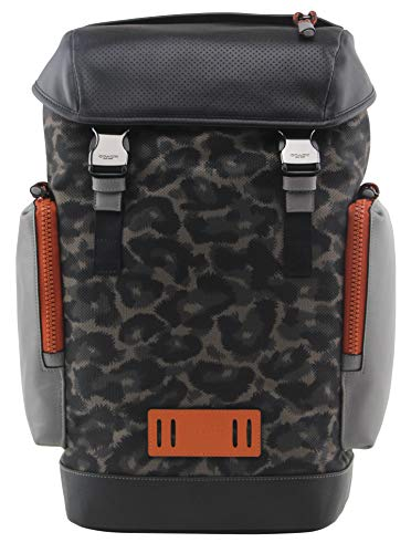 Coach Men's Ranger Backpack With Animal Camo Script Print, Style 1902