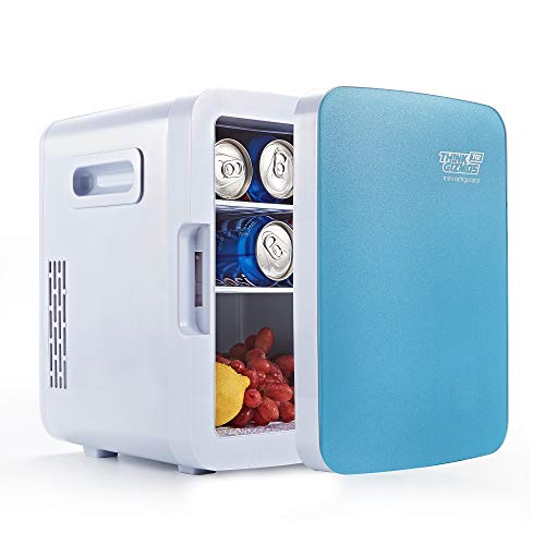 Mini Fridge Electric Cooler & Warmer - AC/DC Portable Thermoelectric System (15L)