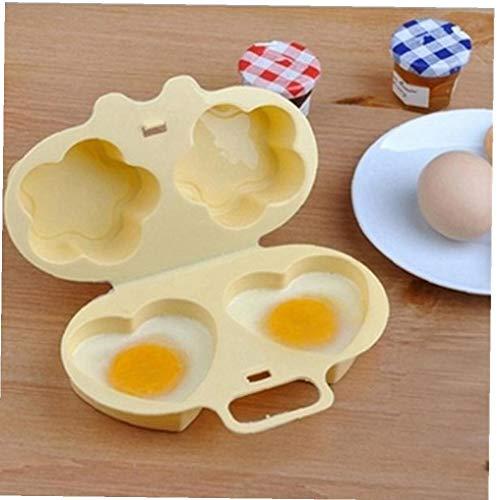 AMOYER Microondas Furtivo del Huevo Escalfado Huevo Cocina Lavaplatos Huevo Segura Vapor Cocina Gadget De La Categoría Alimenticia del Huevo Escalfado Fabricante