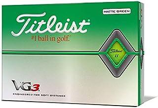 TITLEIST(タイトリスト) ゴルフボール 2020年モデル VG3 1ダース (12個入り) 日本正規品