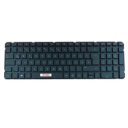 Teclado alemán – Color: Negro – sin marco – Compatible con HP Pavilion G6-2100, G6-2200, G6-2000, G6-2300
