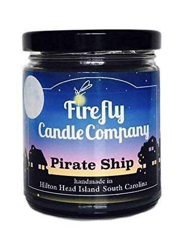 Pirate Ship Candle- Pirates of the Caribbean Candle 8oz