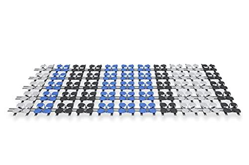 CubeSleep Bettsystem CUBEcamp Set   Schlafsystem für unterwegs   Lattenrost System variabel einsetzbar (70/80 x 200cm)