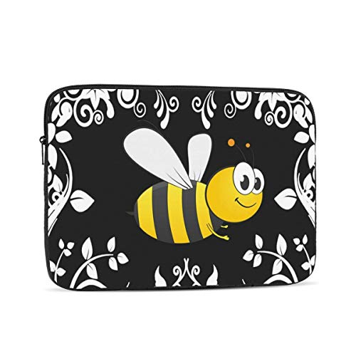 Laptop Case Bumble Bee Waterproof Polyester Waterproof Protective Soft Padded Bag Tablet Shockproof Travel Bag 10-17 Inch