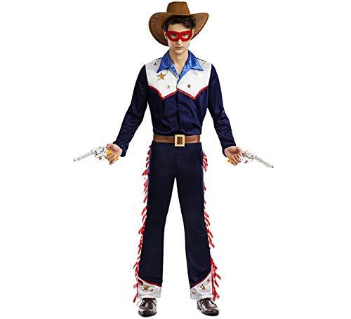 Car&Gus Disfraz de Vaquero Llanero para Hombre