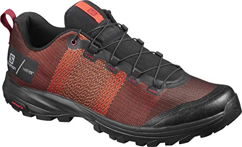 SALOMON Shoes out/Pro, Zapatillas de Trekking Hombre, Naranja (Cherry Tomato/Black/Red Dahlia), 42...