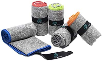 Acteon Microfiber Gym Towels Quick Dry Antibacterial Workout Towel Fights Odors Compact Sports product image