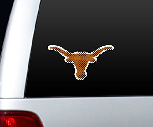 Texas Longhorns gestanzt Fenster Film–Groß