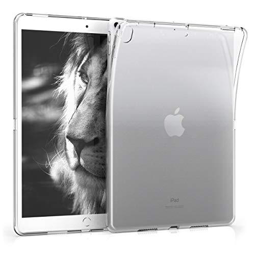 kwmobile Hülle kompatibel mit Apple iPad Air 3 (2019) - Silikon Tablet Cover Hülle Schutzhülle Transparent