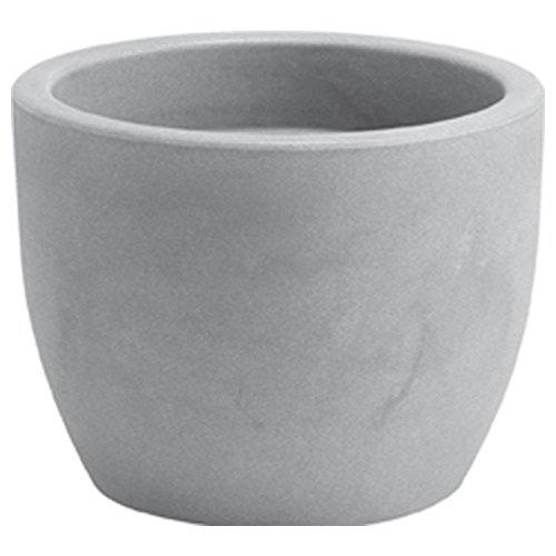 hydroflora 63001420–Vaso Nicoli Hera, Ash, 30x 30x 23cm