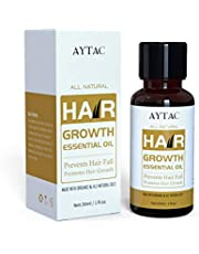 Anself 30ML Hair Growth Serum Herbal Hair Growth Essential Oil Botanical Hair Oil Growth Treatment for Men and Women Hair Loss Dry Damaged Hair and Scalp