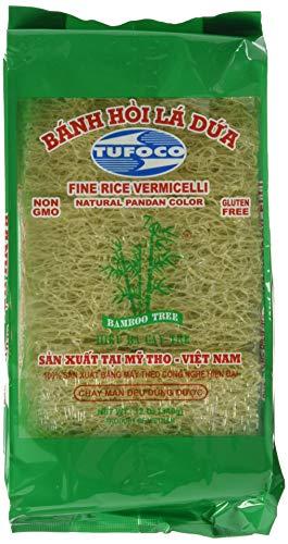 BAMBOO TREE Feine Reis Vermicelli Grün, 340 g