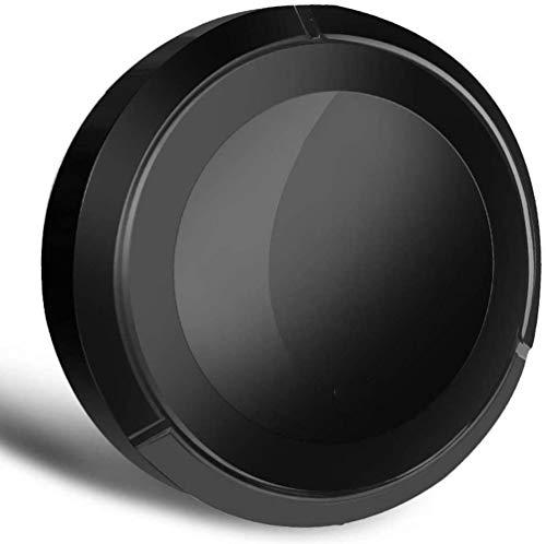 Aspirador robótico, de Carga USB Robot Aspirador una Variedad de Modos Mejores de Limpieza for el diseño de Pelo de Las Mascotas Duro y Mediano tamaño Alfombra Delgada, Negro