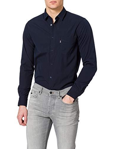 BOSS Magneton_1 10230792 01 Camisa, Dark Blue404, S para Hombre