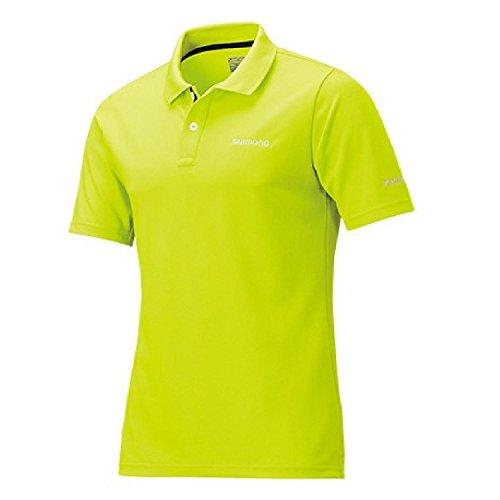 シマノ(SHIMANO) ポロシャツ(半袖) SH-074R ライム XL