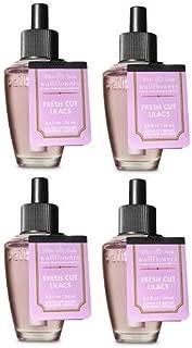 Bath and Body Works 4 Pack Fresh Cut Lilacs Wallflowers Fragrance Refill. 0.8 fl oz.