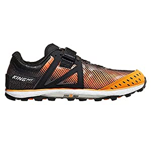 ALTRA Men's King MT 2 Trail Running Shoe, Black/Orange - 12 M US