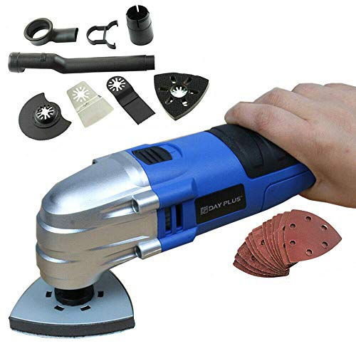 Lowest Prices! 180W Handheld Oscillating Multi-Tool Electric-Corded, for Cutting Sanding Grinding, W...