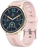 SmartWatch Smart Watch Smart Watch Men IP68 Impermeable Fitness Tracker Rate Tasa de corazón Monitoreo del reloj Monitoreo del reloj Mostrar Moda Sports Band-Pink Best Regalo / Rosa ( Size : Blue )