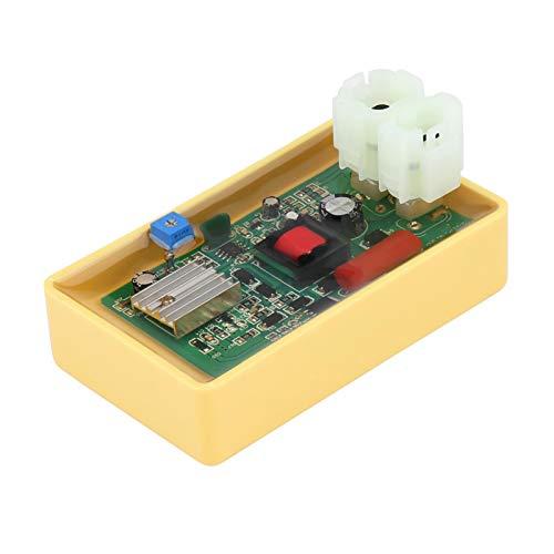 Caja CDI EVTSCAN, caja CDI DC de sincronización ajustable de 6 pines compatible con motor 50CC 60CC 125CC 150CC Scooter ATV GY6