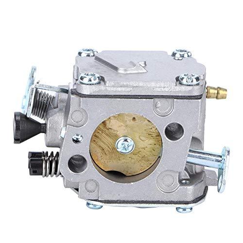Fdit Motosierra Accesorios de carburador Herramientas de jardín Reemplazo de carburador para HUSQVARNA61 268 266 272XP