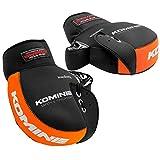 コミネ(KOMINE) バイク用 ネオプレーンハンドルウォーマー ブラック/オレンジ フリー AK-021 345