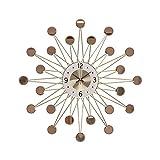 WANGXINQUAN Elegante reloj de pared para sala de estar con estilo moderno y minimalista reloj de pared con estrellas nórdicas de 70 x 70 cm