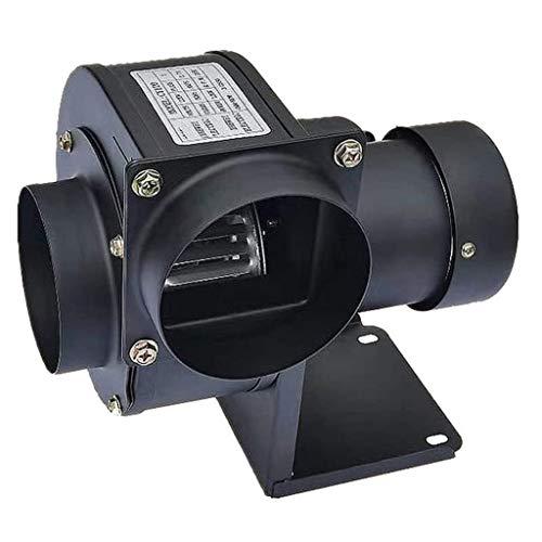 BDXZJ Soplador 220 V, Soplador De Forja Eléctrico En La Parte Superior del Ventilador De Barbacoa 220 V Motor De Cobre Puro, Utilizado para Ventilador De Barbacoa 200 W, Negro
