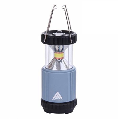 10T Outdoor Equipment col 300 LM Lampe de Camping, Bleu, 14,5 x 13,5 x 13,5 cm