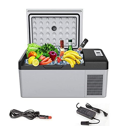 HRRF Congelador de refrigerador de compresor portátil, Utilizado para automóviles y hogares de 12V / 24V DC congelación refrigeradora, para Viajes a Domicilio