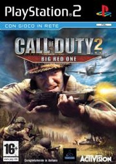 Activision Call of Duty 2: Big Red One, PS2