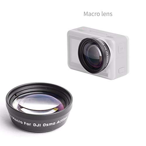 Sodoop Portable Portable Macro Lens Macro HD for DJI OSMO Action 4K Camera,Anti-Shake Waterproof Anti-Fingerprint,AGC Material in Japan