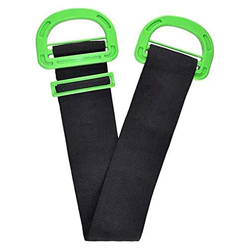 Kylewo verstelbare lengte slijtage trekken rond en heffen banden, verplaatsen transportband, voor het trekken rond meubels boksen matras zware dienst objecten