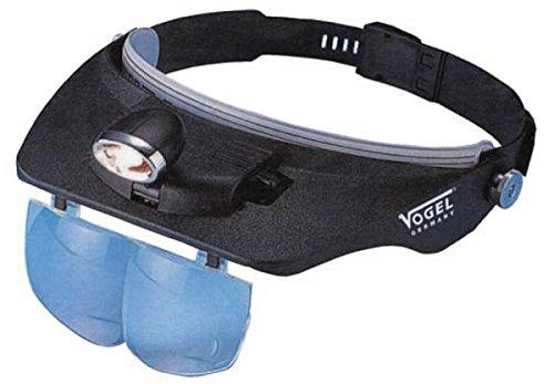 Kopfbandlupe mit LED Leuchte