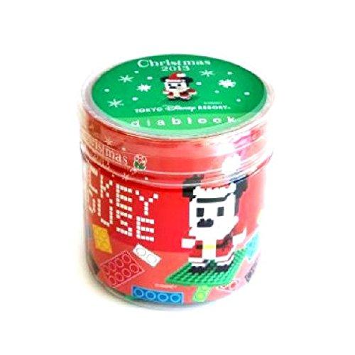 ディズニーランド限定 2013 クリスマス ダイヤブロック ミッキーマウス