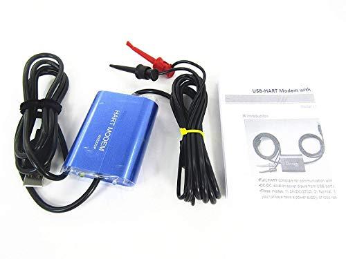 BAOSHISHAN USB Hart modem WS232UP Vollversion Hart USB Modem Harttransmitter USB Modem mit integriertem 24VDC und Schleifenwiderstand für alle HART-Geräte