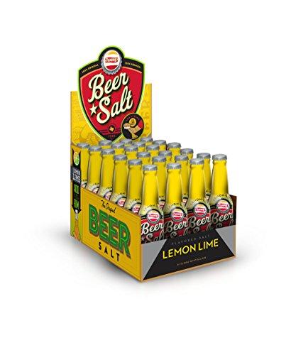 Twang Flavored Beer Salt, Lemon Lime, 1.4 Ounce Mini Bottles (24 Count Display Pack)