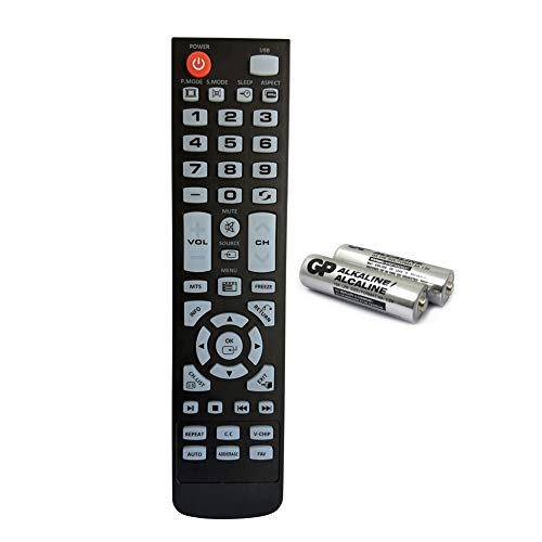 Replacement TV Remote Control for Element tv ELEFW247 ELEFW328 ELEFW248 ELEFW195 ELEFW505 ELEFW504 ELEFT506 ELEFT326 ELEFW504A ELEFT407 ELEFW581 ELEFT222 ELEFT426 with GP Alkaline 2 pcs Batteries. Buy it now for 10.98