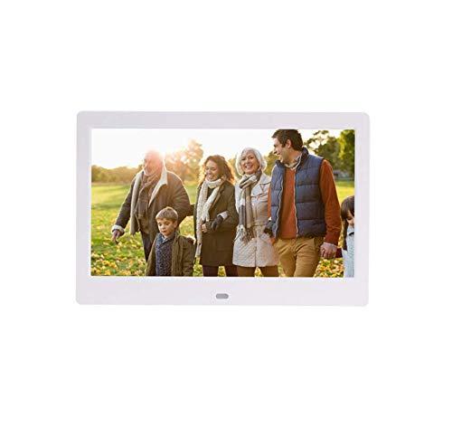 10 Pulgadas Marcos de Fotos Digitales (resolución 1024 × 600) Sistema Android 1G Memoria Inteligente máquina de Publicidad Capaz de conectar WiFi,White