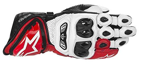 Alpinestars GP Tech Handschuhe, Farbe schwarz-weiss-rot, Größe M / 8