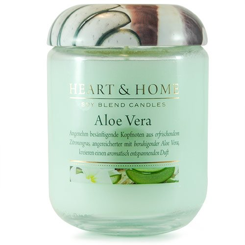 Heart & Home - Home Fragrance Scented Candle Aloe Vera