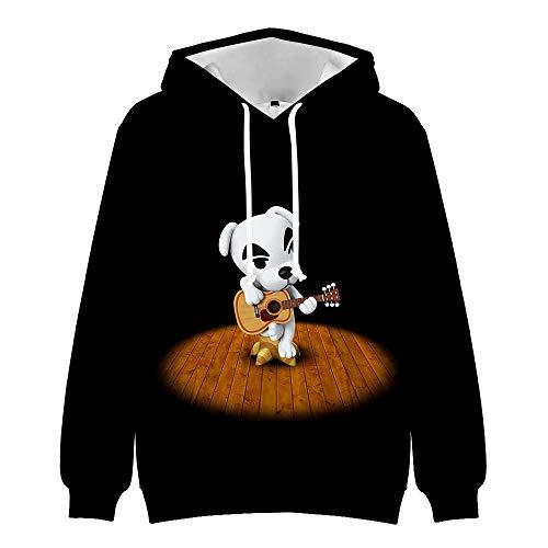 Unisex Animal Crossing: New Horizons Lässige T-Shirt Langarm Kapuzenpullover Sweatshirts