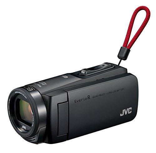 JVCKENWOOD JVC ビデオカメラ Everio R 防水 防塵 Wi-Fi 64GB マットブラック GZ-RX670-B