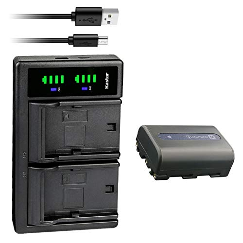 Kastar 1-Pack NP-FM50 Battery and LTD2 USB Charger Replacement for...